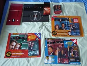 X-Files- DVD/Magazine Complete Collection issues 1,2 & 3