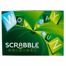 Mattel Scrabble Original Classic Board Tile Game - Y9592