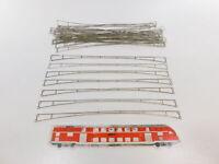CG901-0,5# 30x Märklin H0 7018 Fahrdrahtstück (27 cm) für Oberleitung/OL, NEUW