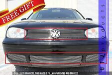 GTG 2000 - 2005 Volkswagen Golf 4PC Polished Combo Billet Grille Grill Kit