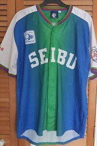 LIONS SEIBU baseball shirts/sizeL/