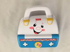 "Multi 4X7.5"" Fisher Price Music Box Suitcase Bag Purse"
