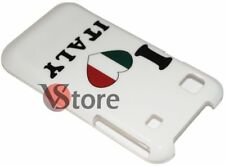 Cover Custodia Per Samsung Galaxy S i9001 Plus I Love Italia Italy