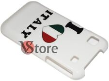 Cover Case for Samsung Galaxy S i9001 plus I Love Italy Italy