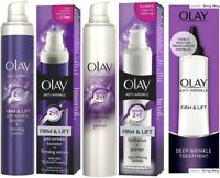OLAY Anti-Wrinkle FIRM & LIFT (Booster+Serum/Hydration+Primer/Deep Treatment)