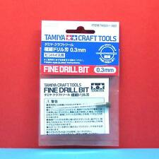 Tamiya #74081 Fine Drill Bit (0.3mm) [Craft Tools]