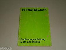 Betriebsanleitung Handbuch Kreidler Mofa Moped MP MF, Stand 03/1973