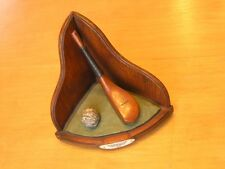 McEwan Club Gutta Ball Corner Shelf Bookend Miniature Golf Sculpture Enesco 2001