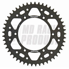 KAWASAKI KX250 87-08 Supersprox Motocross Rear Aluminium Sprocket Black 50 Teeth