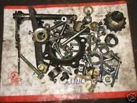 80 KAWASAKI KE175 KE 175 ENGINE MOTOR BOLT BIN LOT