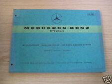 Teilekatalog Mercedes Motor OM 615