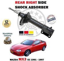 per MAZDA MX3 COUPE 1.6 1.8 1991-1997 NUOVO POSTERIORE DX Ammortizzatore
