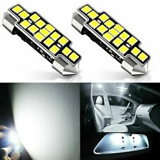 JDM ASTAR 15-SMD 42mm White LED License map dome door Lights Bulbs 211-2 578 569