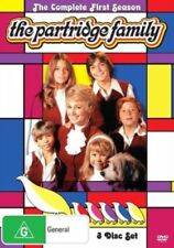 THE PARTRIDGE FAMILY : COMPLETE SEASON 1  -  DVD - UK Compatible - New sealed