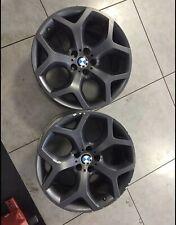 2 Cerchi In Lega Usati 20 Pollici BMW X5/X6 Anteriore E Posteriore