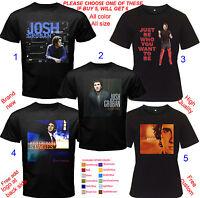 JOSH GROBAN Album Concert Tour Shirt Size Adult S-5XL Youth Babies