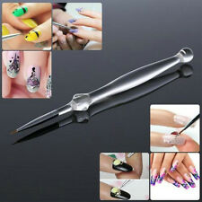 Simple Nail Art Tips UV Gel Crystal Painting Drawing Pen Polish Brush Pen Tool