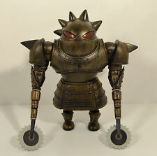 "2009 Light-Up Gladiator Ring Buzzsaw Samurai Robot 6.25"" Action Figure Astro Boy"