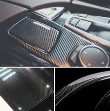 "60cm""x150"" 5D Shiny Glossy Carbon Fiber Car Vinyl Film Wrap Sticker Decal"