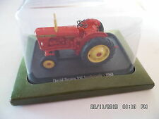 TRACTEUR DAVID BROWN 990 IMPLEMATIC 1963 1/43 I60