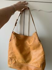 Vintage Timberland Brown Soft Leather Boho-style Bag Trendy Rare