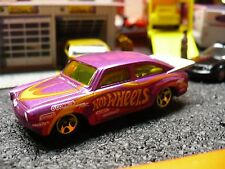 1965 Volkswagen Fastback Custom Funny Car, Violet striped in yellow