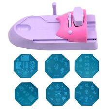 Nail Printer Machine Printing Manicure DIY Drawing Polish Art Stamper Tool Set G