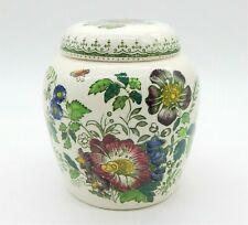 More details for mason`s white ironstone paynsley patt size 10cm ginger jar