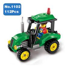 Enlighten 1102 City Tractor Car Green Engineering Vehicle Building Blocks Toy