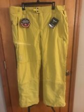 NWT COLUMBIA MENS TITANIUM POWDER KEG OMNI HEAT SOFTSHELL SKI PANTS - XXLarge