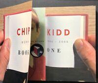 CHIP KIDD Book One: Work 1986-2006 1st Print 1st Ed. 2005 Chris Ware JOHN UPDIKE