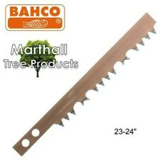 "Bahco 23-24 Peg Tooth Hard Point Bowsaw Blade 24"" Inch Wood / Timber BAH2324"