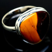 Large Mookaite 925 Sterling Silver Ring Size 12.75 Ana Co Jewelry R10104F