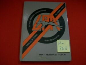 1986 LINCOLN PARK ACADEMY FORT PIERCE, FLORIDA MIDDLE SCHOOL 7-8 GRADE YEARBOOK