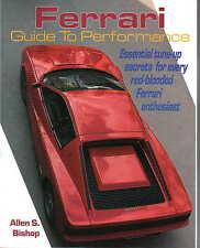 FERRARI Guida alle prestazioni essenziali TUNE-UP MOTORE CARBURANTE ACCENSIONE raffreddamento V8 +