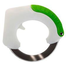 Rolling Knife Circular Stainless Steel Vegetable Food Slicer Kitchen Cutter