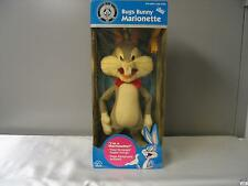 """Bugs Bunny Marionette """"Faded Plastic"""" Applause Looney Tunes"""
