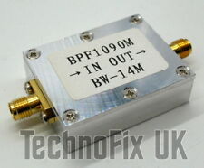 1090MHz ADS-B band-pass SAW filter e.g. for RTL-SDR, Planeplotter etc.