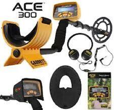 Garrett ACE 300 Metal Detector 3 Free items Headphones, Enviro Cover, Coil Cover