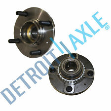 Both (2) Brand New Complete Rear Wheel Hub & Bearing Assembly For Hyundai Accent