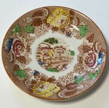 Vintage Enoch Woods English Scenery Saucer Only Woods Ware Wood & Sons England