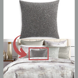 """NWT $170 Hotel Collection Iridescence 18"""" Square Decorative Pillow #P11"""
