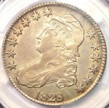 1828 Capped Bust Half Dollar 50C - Certified PCGS AU Details - Rare Coin!