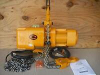New HARRINGTON 2 Ton NER020C-10 10 ft Lift Chain Hoist 230/460 V 3 Phase 7FPM