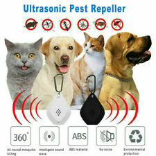 Flealess Ultrasonic Flea Tick Repeller Portable Lightweight Repeller Pest W7W4