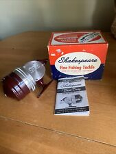 Vintage 1950s Shakespeare 1795 Wonder Cast Push Button Reel w/ Original Box