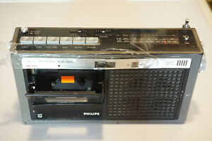 *For parts of repair* Philips RR-230 Radio Cassette Player Made in JAPAN