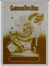 GARBAGE PAIL KIDS BATTLE OF THE BANDS PRINTING PLATE ALICE COOPER ASPHYXIATED