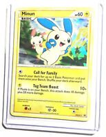 MINUN - HGSS17 - Black Star Promo - Holo - Pokemon Card - NM