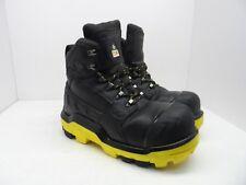 DUNLOP Men's 6'' Composite Toe Composite Plate DLNB16103 Safety Boots Black 10M